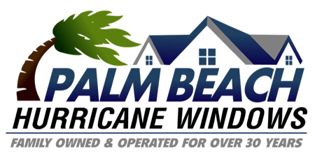 palm beach hurricane windows logo